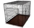 Клетка №6 для животных, 2 двери, эмаль, мет.поддон, 121х78х83см