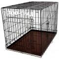 Клетка №5 для животных, 2 двери, эмаль, мет.поддон, 107х71х81см