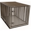 Клетка №5 для животных, УСИЛЕННАЯ, 1 дверь, эмаль, мет.поддон, 111х73х71см